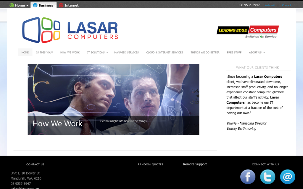Lasar Computers