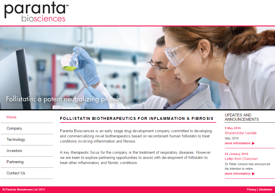 Paranta Biosciences