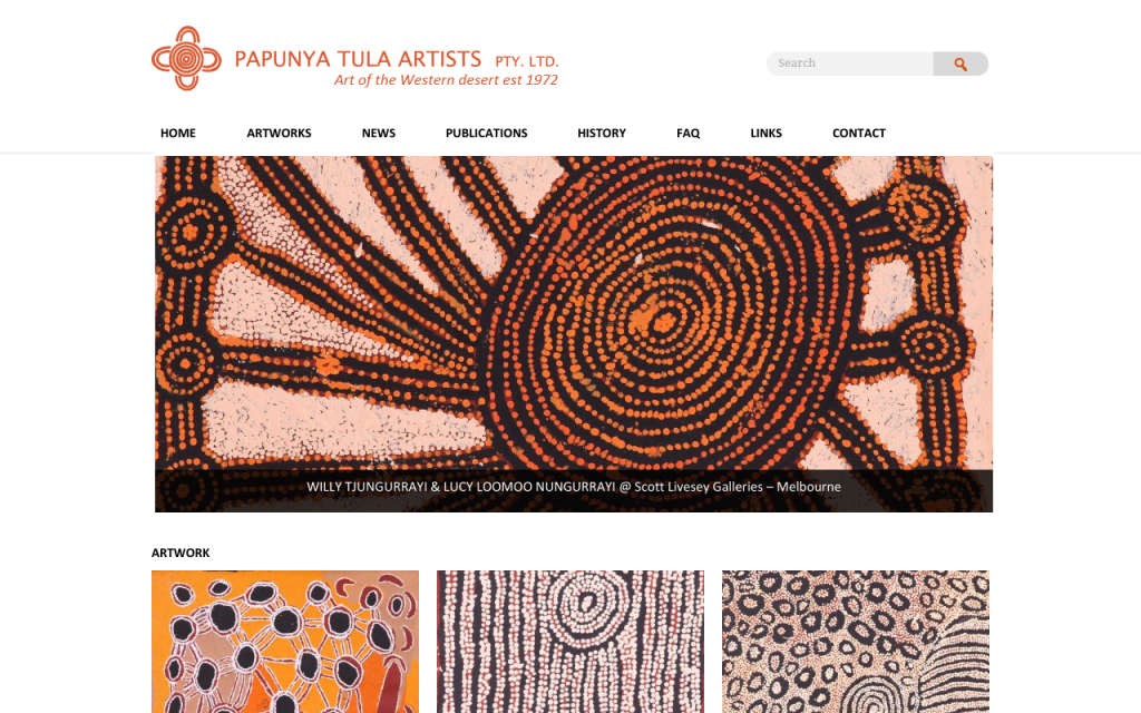 Papunya Tula Artists