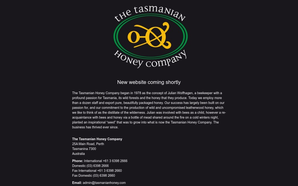 The Tasmanian Honey Company