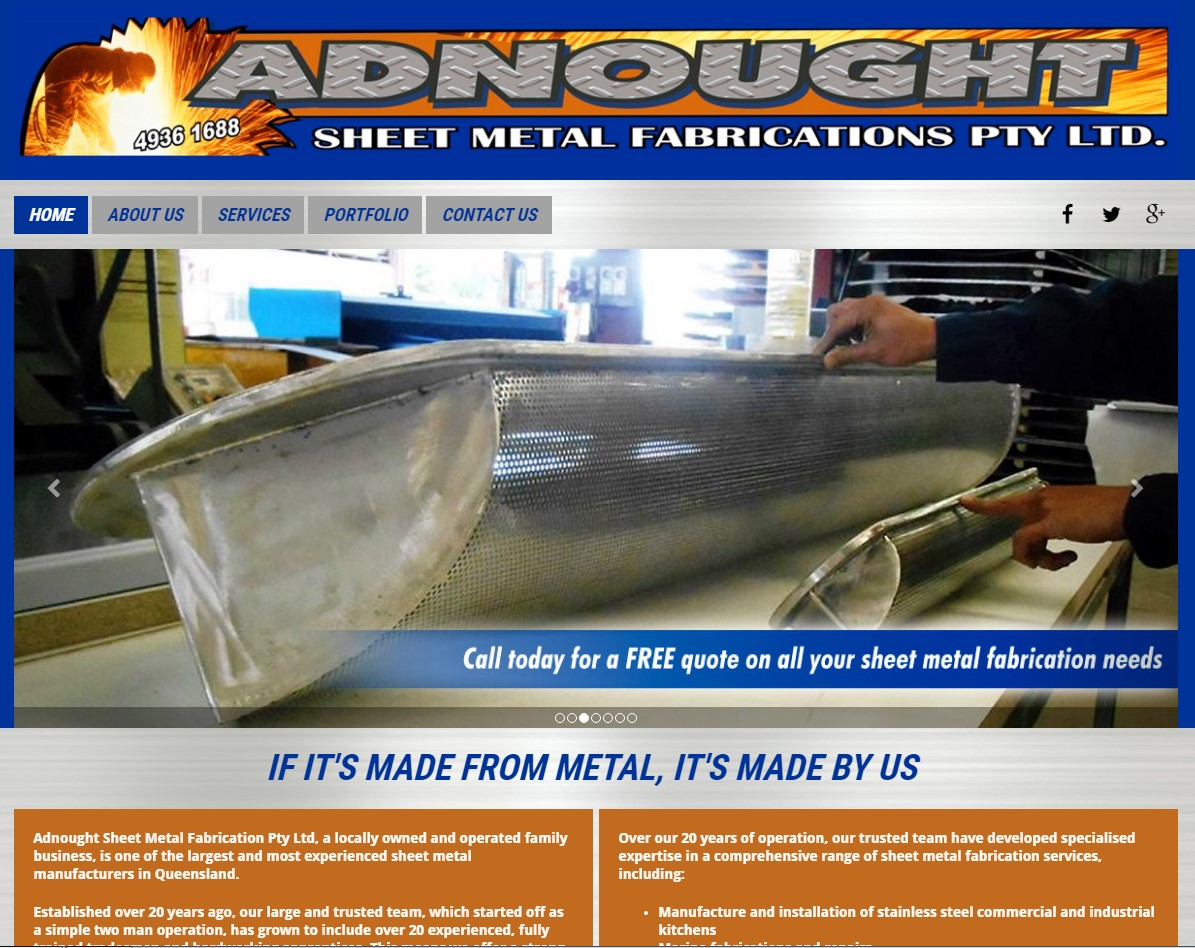 Adnought Sheet Metal Fabrication