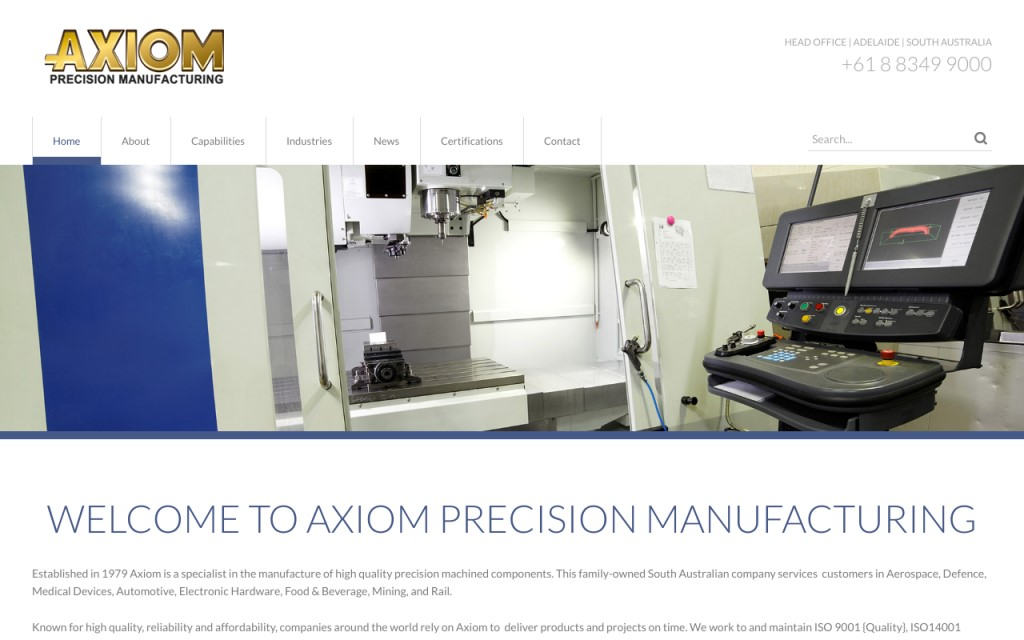 Axiom Precision Manufacturing