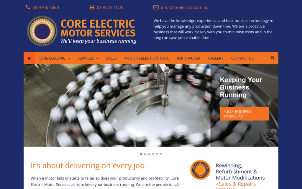 Core Electric Motor Services