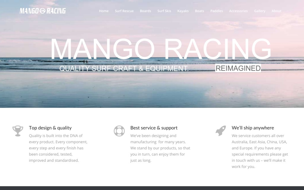 Mango Racing Surf Craft