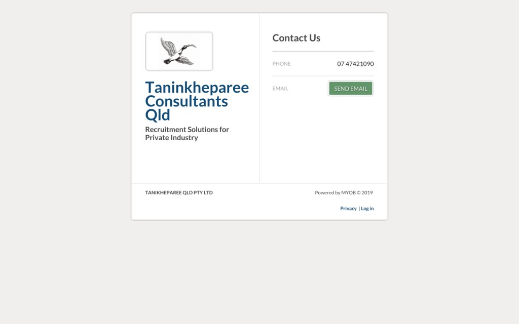 Taninkheparee Consultants
