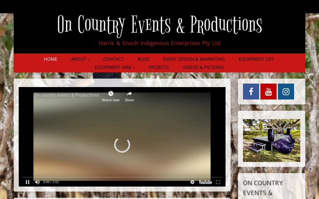 On Country Events & Productions
